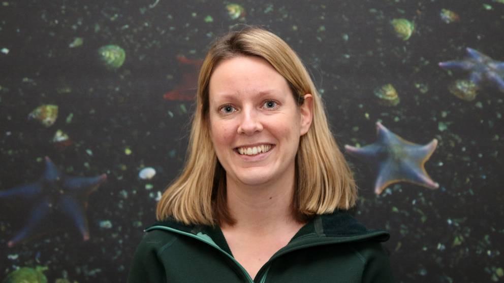 Karin Glaumann, sakkunnig fisk och marknad på WWF.