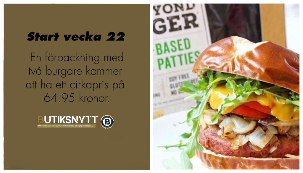 The Beyond Burger hos Coop vecka 22