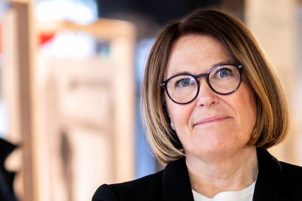 Karin Johansson är vd på Svensk Handel