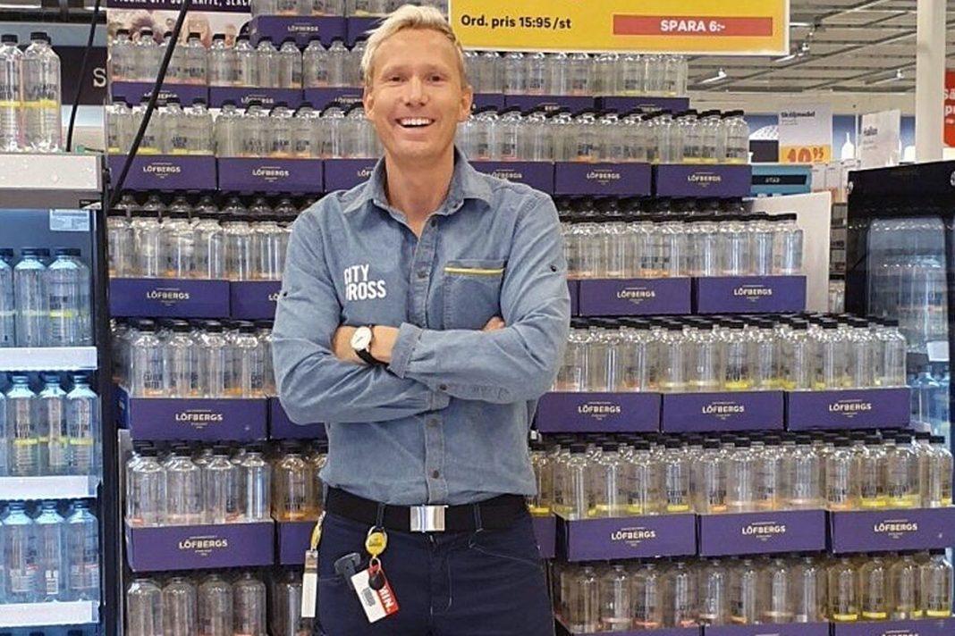 Jesper Mattsson är ny butikschef för City Gross i Skara
