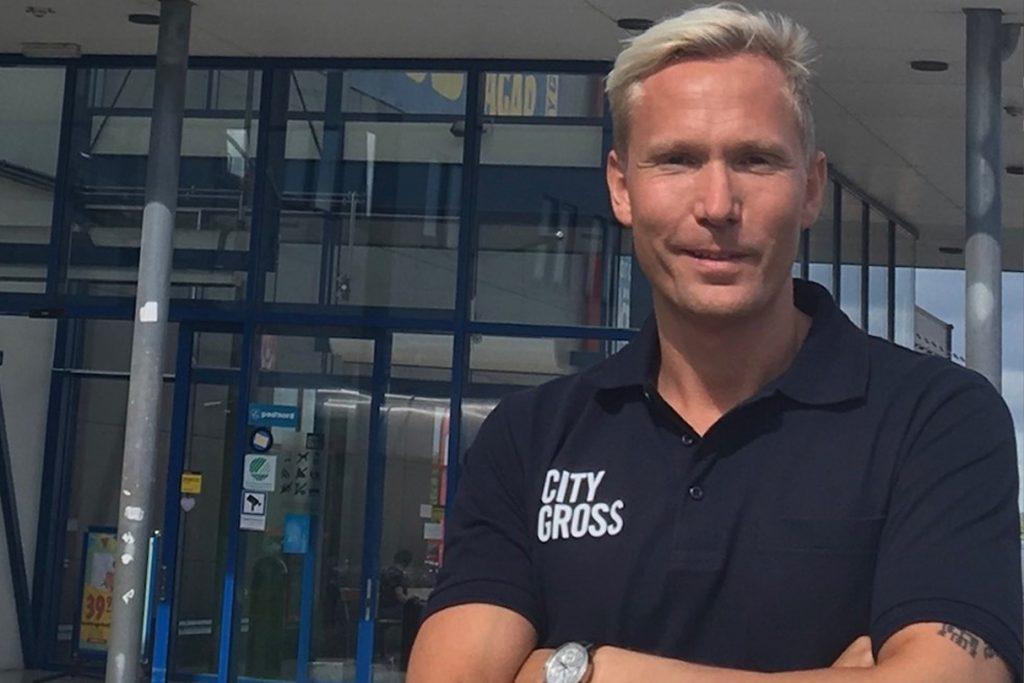 Jesper Mattsson ny butikschef på City Gross i Skara
