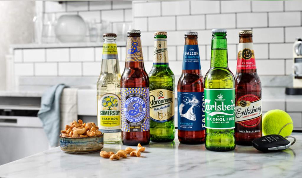 Alkoholfri öl från Carlsberg - Butiksnytt