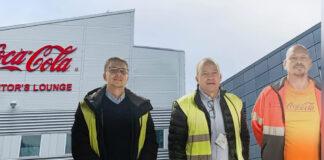 Coca-Colas produktionsanläggning i Jordbro har moderniserat sin ventilation.