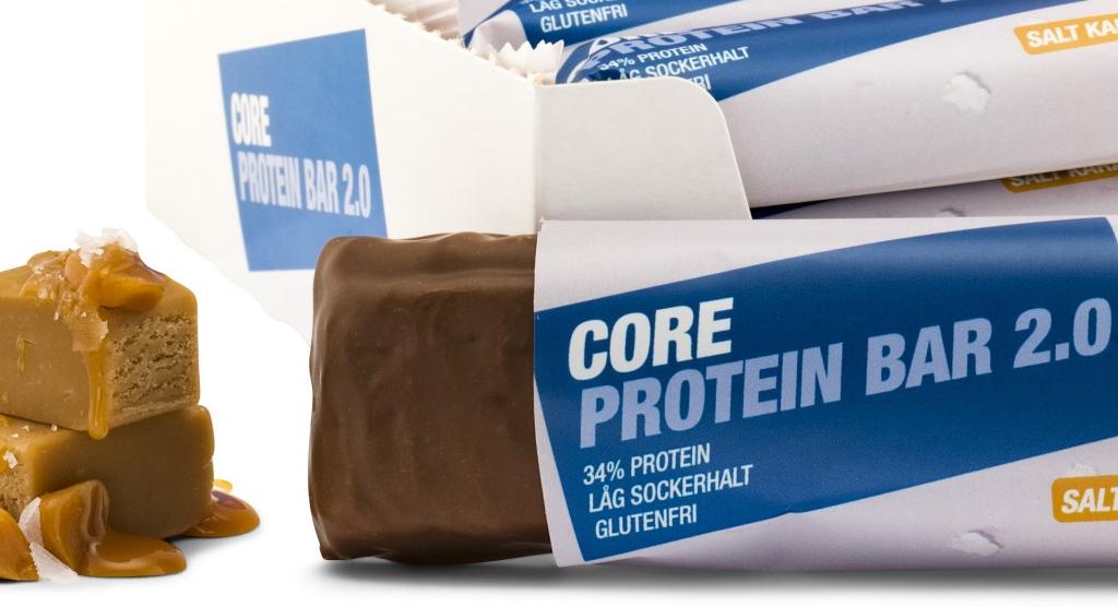 Core protein bar 2.0-butiksnytt
