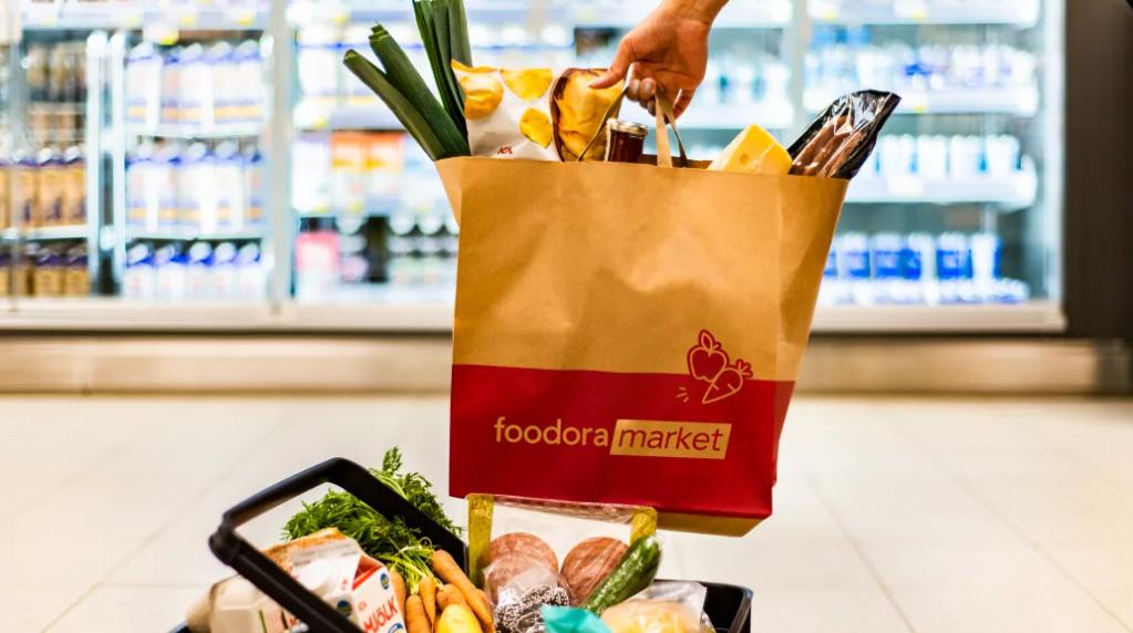 foodora market öppnar upp sin tredje butik
