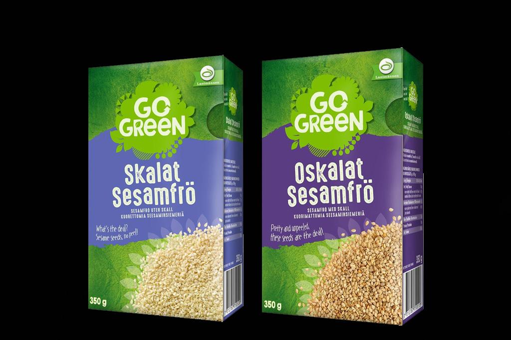 Gogreen Sesamfrön återkallas från marknaden - Butiksnytt