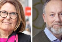 Karin Johansson, Svensk Handel, och Jonas Siljhammar, Visita, varnar för en överimplementering av ett EU-direktiv