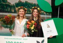 Fanny Näslund och Johanna Björkman Änglamarkspriset 2020