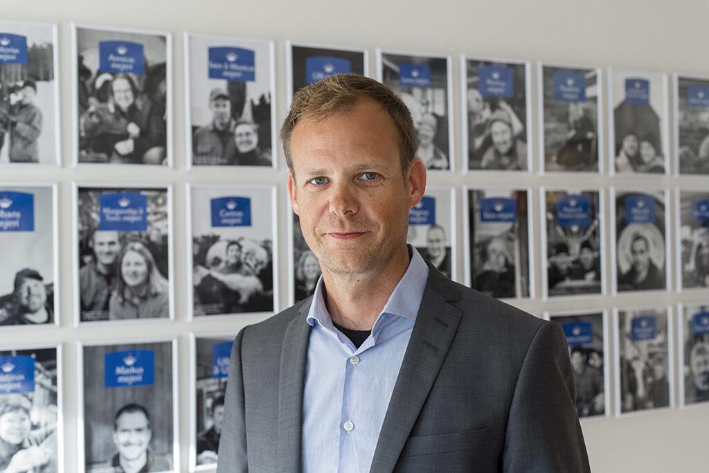 Anders Fredriksson Norrmejerier Foto Jan Lindmark