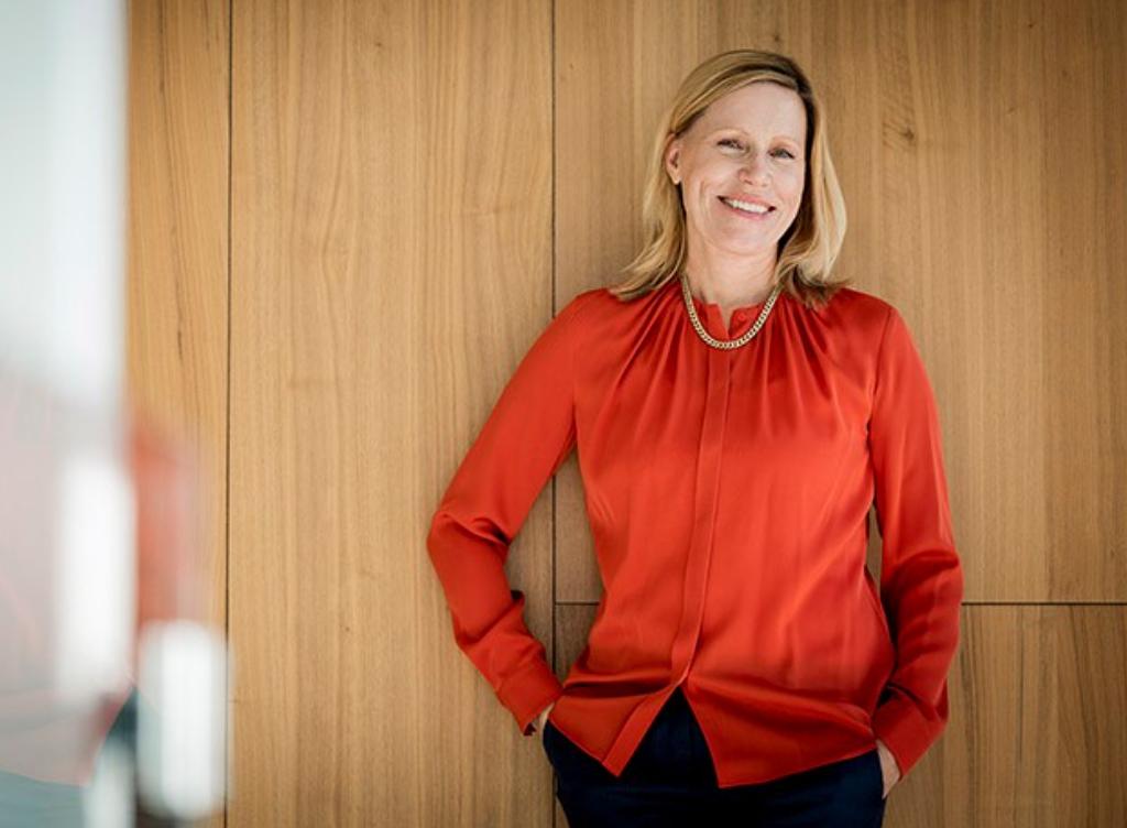 Karin Hedlund, IT-direktör Axfood. Foto: Gustav Kaiser