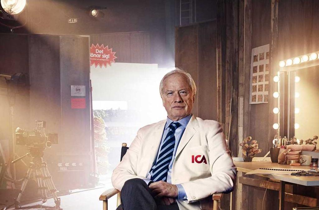 Loa Falkman ICAs reklamfilmer