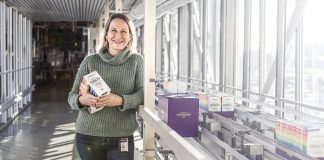Jenny Tegnhed, kategorichef på Löfbergs