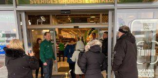 Stora Coop Härlöv 2021 invigning