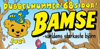 Bamse Copyright Rune Andersson