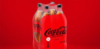 Coca-cola netton noll plast