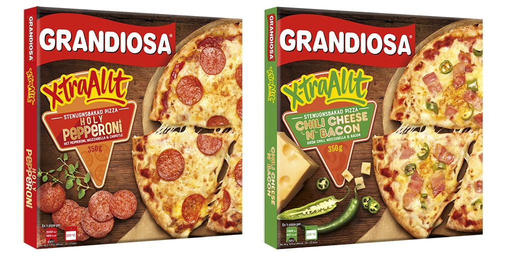 Grandiosa Holy Pepperoni Pizza