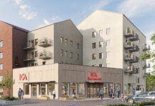 ICA-butik i Enköpings nya stadsdel
