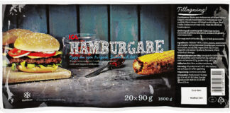 ICA EMVHamburgare 20x90 g 1800 gEAN 7318690103301