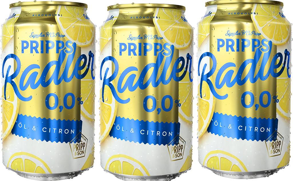 Pripps Radler Carlsberg Sverige
