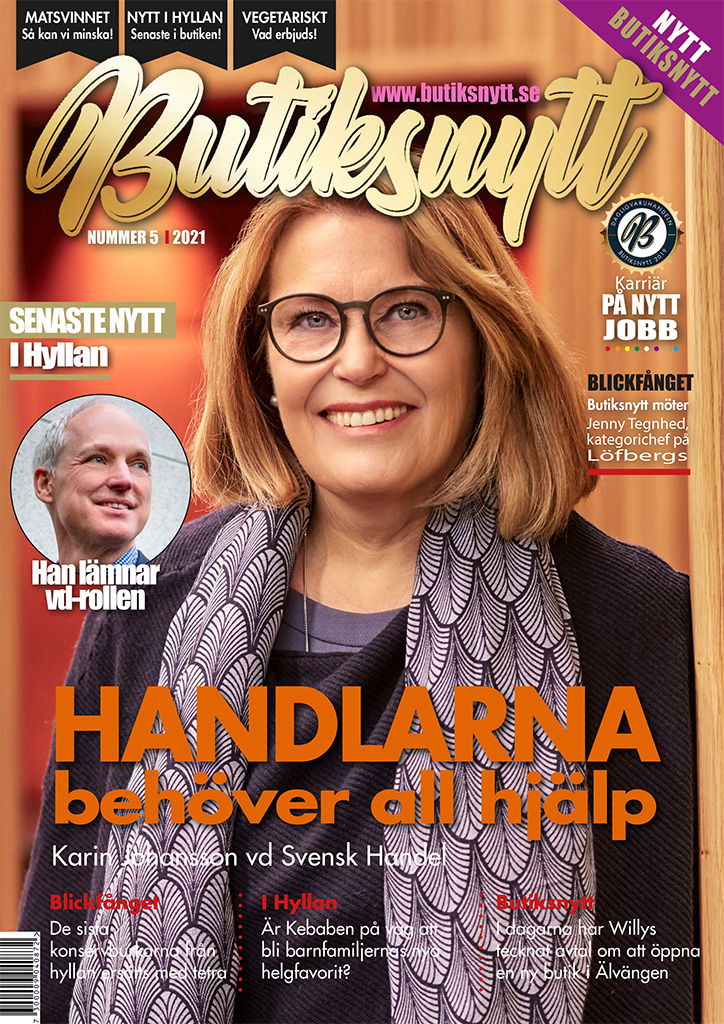 karin Johansson - Butiksnytt-nummer 5 - 2021