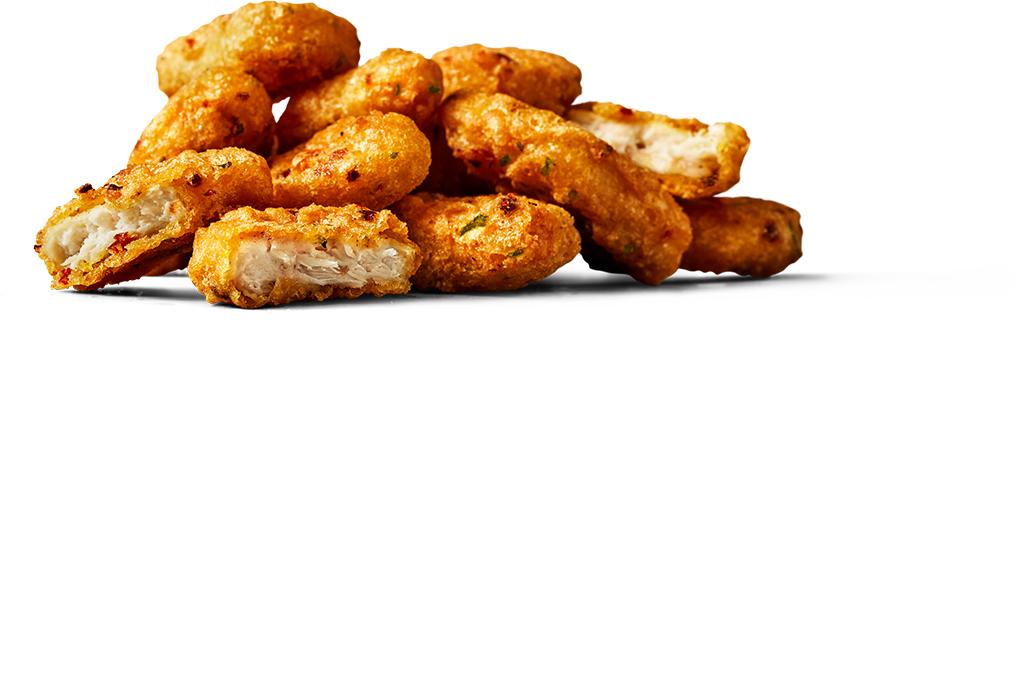 spicey chicken mcnuggets