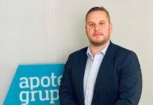 Tomas Sternenfall, säkerhetschef på Apoteksgruppen. Foto: Hanna Dewrang.