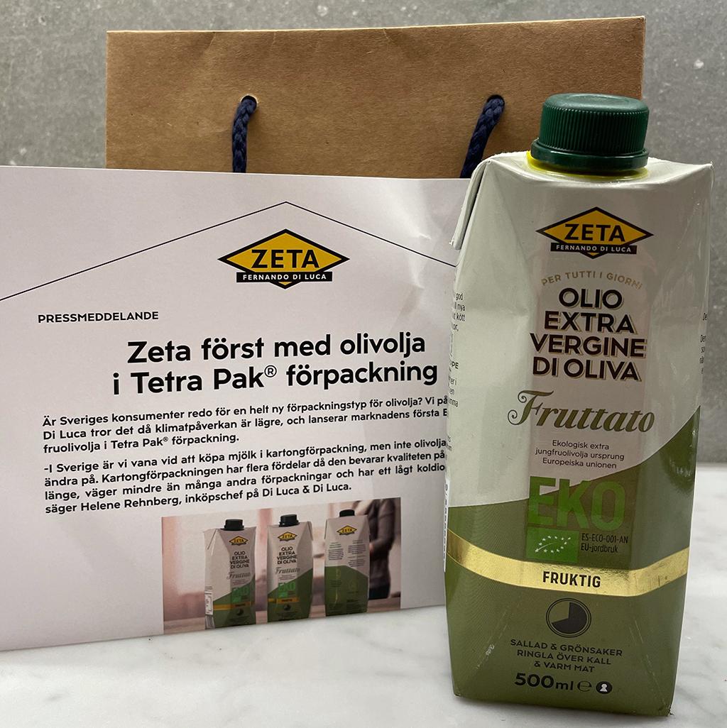 Olivolja TetraPak