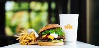 Grand deluxe Korean barbeque hamburgare MAX